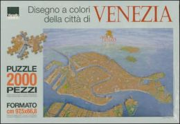 Puzzle - Map of Venice: 2000 Pieces