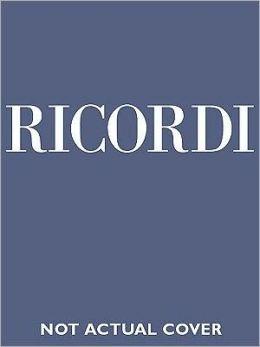 Juditha Triumphans Devicta Holofernis Barbarie Rv644 Vocal Score Edizione Critica