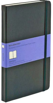 Moleskine Black Large Sketchbook 5.25