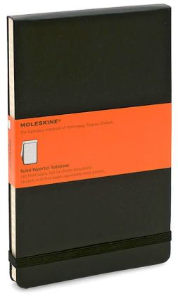 Moleskine Classic Large Ruled Reporter Notebook