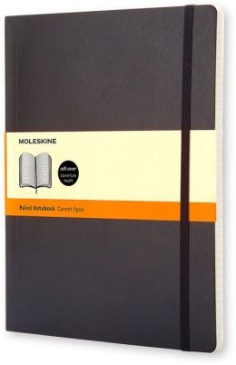 Moleskine Classic Soft Cover Extra Large Ruled Notebook