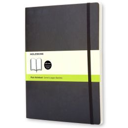 Moleskine Classic Soft Cover Extra Large Plain Notebook