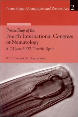 Proceedings of the Fourth International Congress of Nematology, 8-13 June 2002, Tenerife, Spain