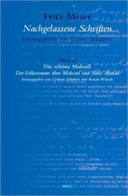 Band 2. Die schone Mahsati