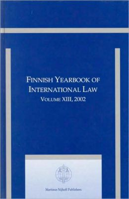 Finnish Yearbook of International Law, Volume 13 (2002)