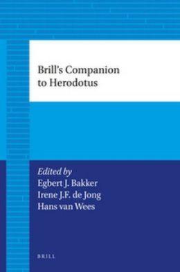 Brill's Companion to Herodotus