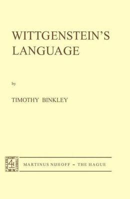 Wittgenstein's Language