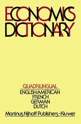 Quadrilingual Economics Dictionary