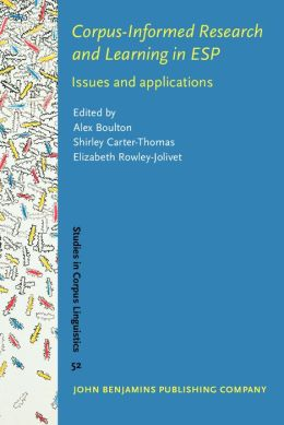 Corpus-Informed Research and Learning in ESP: Issues and applications