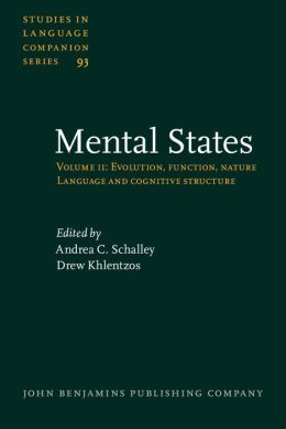 Mental States: Volume 2: Language and cognitive structure