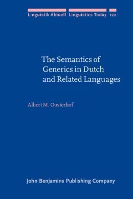 The Semantics of Generics in Dutch and Related Languages