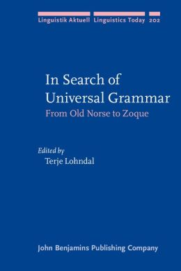 In Search of Universal Grammar: From Old Norse to Zoque