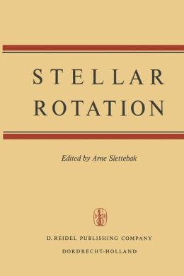 Stellar Rotation: Proceedings of the IAU Colloquium held at the Ohio State University, Columbus, O., U.S.A., September 8-11, 1969
