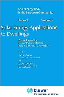 Solar Energy Applications to Dwellings