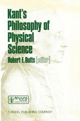 Kant's Philosophy of Physical Science: Metaphysische Anfangsgründe der Naturwissenschaft 1786-1986