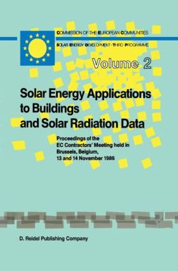 Solar Energy Applications to Buildings and Solar Radiation Data