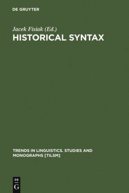 Historical Syntax