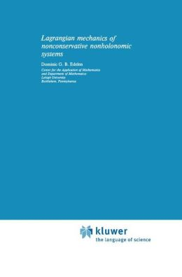 Lagrangian Mechanics of Nonconservative Nonholonomic Systems
