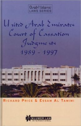 United Arab Emirates Court of Cassation Judgments 1989 - 1997