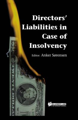 Directors Liability In Case Of Insolvency