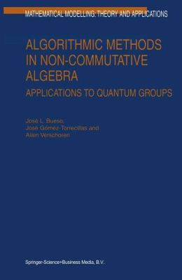 Algorithmic Methods in Non-Commutative Algebra: Applications to Quantum Groups