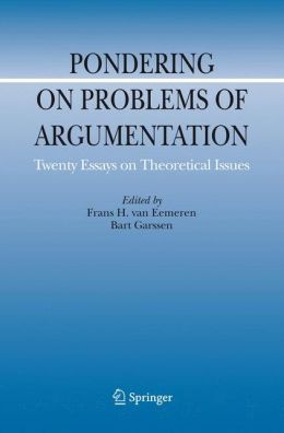 Pondering on Problems of Argumentation: Twenty Essays on Theoretical Issues