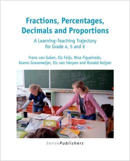 Fractions, Percentages, Decimals And Proportions