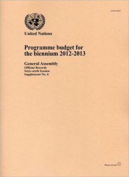 Report of the Programme Budget for the Biennium