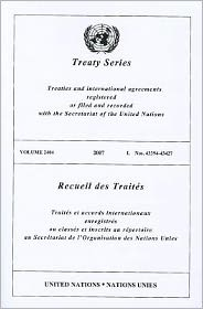 Treaty Series 2404 I: Nos.43394-43427