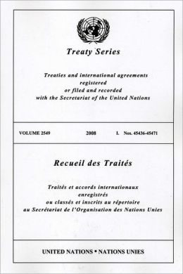 TREATY SERIES 2549 2008 I: Nos.45436-45471