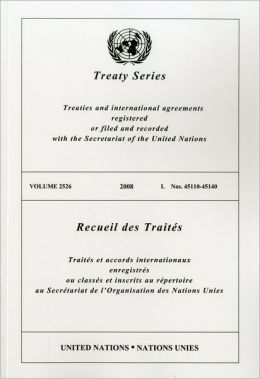 TREATY SERIES 2526 I: Nos. 45110-45140