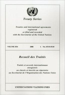 TREATY SERIES 2526 I: Nos. 45110-45140
