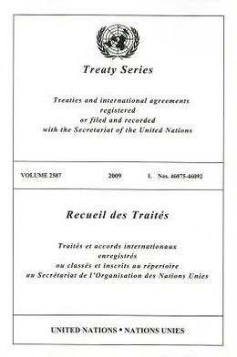 Treaty Series 2587 I