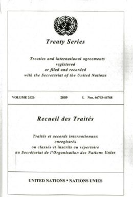 Treaty Series 2626 I: Nos. 46763 - 46768