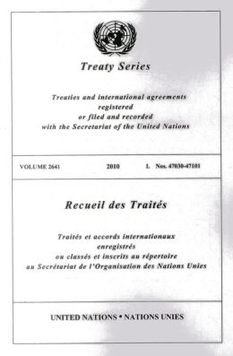 Treaty Series 2641 2010 I: Nos. 47030-47101
