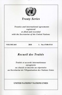 Treaty Series 2643 I: Nos 47108-47115