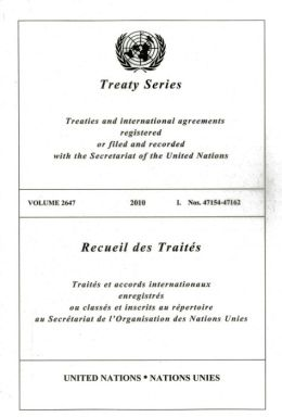 Treaty Series 2647 I: Nos. 47154 - 47162