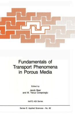 Fundamentals of Transport Phenomena in Porous Media
