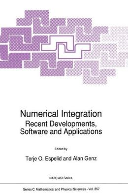 Numerical Integration: Recent Developments, Software and Applications