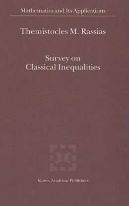 Survey on Classical Inequalities