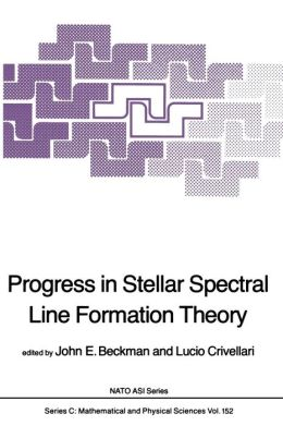 Progress in Stellar Spectral Line Formation Theory