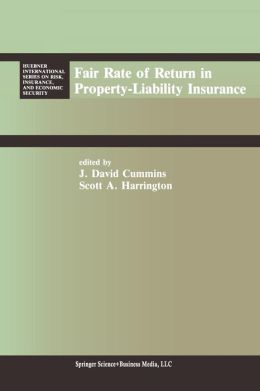 Fair Rate of Return in Property-Liability Insurance