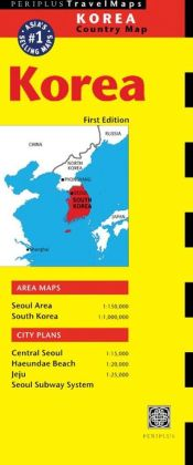 Korea Travel Map First Edition