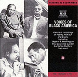 Voices of Black America: Historical Recordings of Poetry, Humor and Drama
