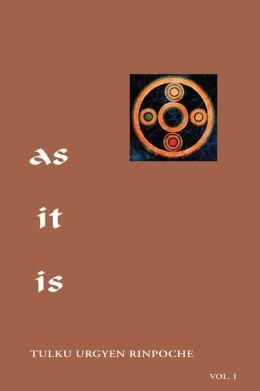 As It Is, Volume I