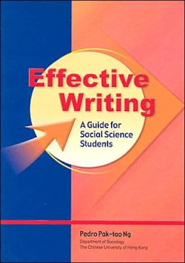 Effective Writing: A Guide for Social Science Students