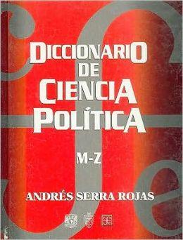 Diccionario de ciencia politica, M-Z