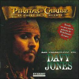 Maldicion de Davy Jones - Piratas Del Caribe