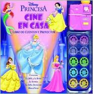 Princesas: Cine En Casa (Libro de Cuentos y Proyector)