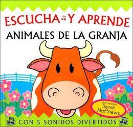 Escucha y aprende: Animales de la granja/ Snappy Sounds Moo!